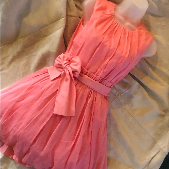 Girls Pink Dress Crewcuts Size 14